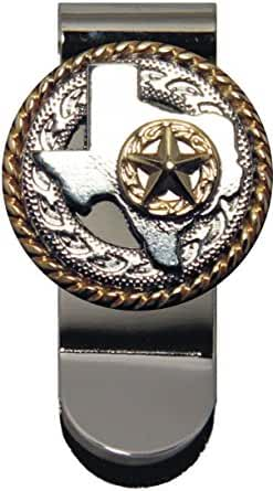 Texas Rope and Star Money Clip