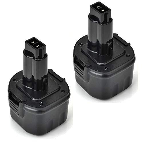 - Upgraded 3600mAh Replace for Dewalt 9.6V Battery DW9061 DW9062 DE9036 DE9062 DW9614 Cordless Power Tool 2 Pack