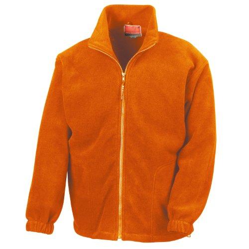 Ergebnis Polartherm Jacke Orange M