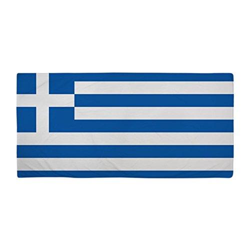 "CafePress - Flag Of Greece - Large Beach Towel, Soft 30""x60"""