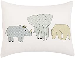 DwellStudio Cross Stitch Pillow- Caravan