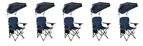 Quik Shade MAX Shade Camp Chair - Navy (5-(Pack)) by Quik Shade.