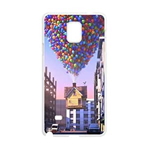 Samsung Galaxy Note 4 Cell Phone Case White Up Phone Case Cover 3D Plastic CZOIEQWMXN4577