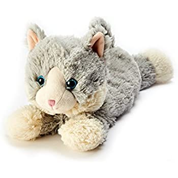 Intelex Warmies Microwavable French Lavender Scented Plush Laying Down Cat