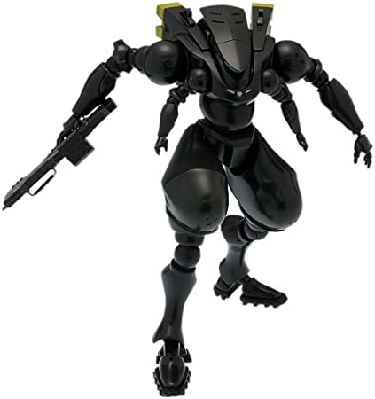 Amazon Com Wave Corporation Jmsdf Type 303 Black Version Ghost In The Shell Stand Alone Complex Arm Suit Toys Games
