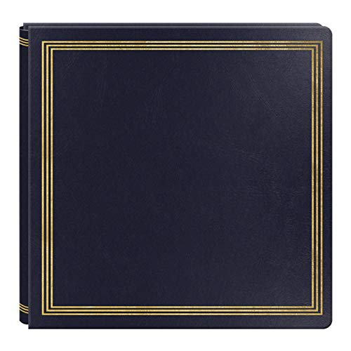Large Magnetic Page X-Pando Photo Album, Navy ()