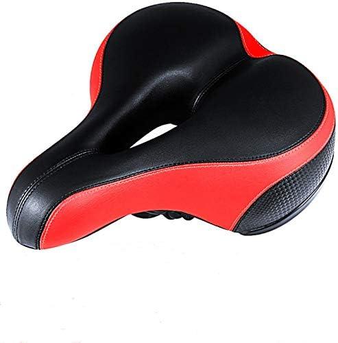 ZHYLYJ オーバーサイズ コンフォート 自転車シート デュアルショック吸収 ベストストックバイクシート 交換用自転車 男性 ロードバイク アウトドアバイク用