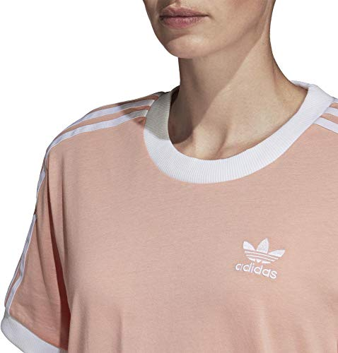 3 Pink Donna Adidas Stripes Dust Maglietta Tee vdwpqwS