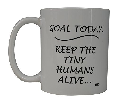 Funny Coffee Mug Goal Today Kids Novelty Cup Great Gift Idea For Mom Mother's Day