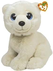 Ty 7175012 Wild Wild Best - Oso polar de peluche Iceberg, 33 cm [Importado de Alemania]