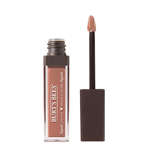Burt's Bees 100% Natural Moisturizing Liquid Lipstick, Niagara Nude – 1 Tube