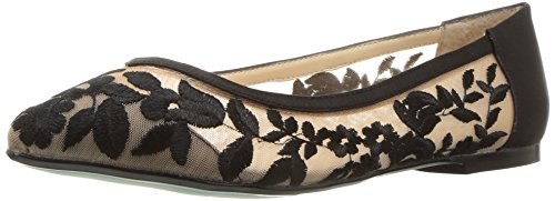 Blue Johnson Leah Black Flat SB Ballet Betsey by Womens UqrUaF