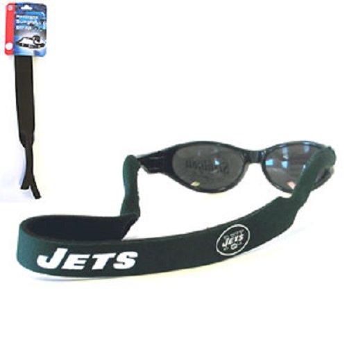 New York Jets Neoprene Strap Holder Croakies for Sunglasses or Eyeglasses Officially Licensed NFL Football Team Logo