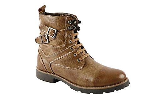 Leoport Men's High Ankle Length Boots
