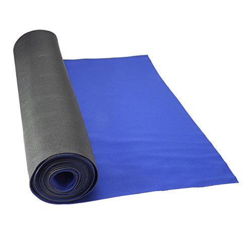 27'' x 180' Neoprene Floor Runner - Blue by US Cargo Control
