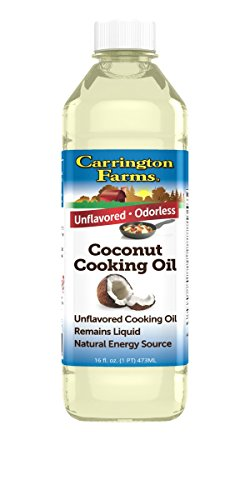 Carrington Farms Coconut Cooking Oil, 16 Ounce, Packaging May Vary