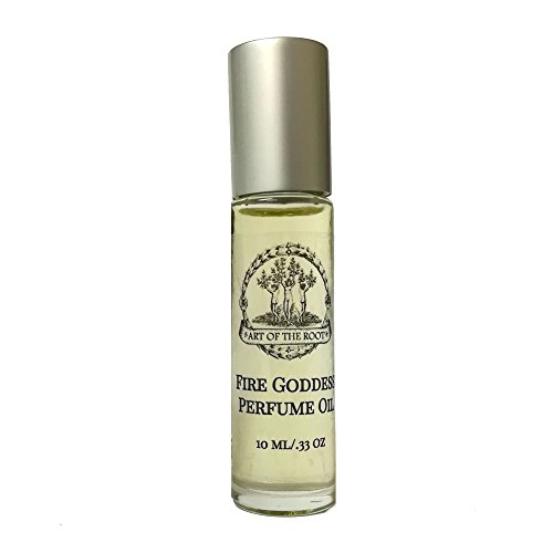 Fire Goddess Roll-On Perfume Oil 1/3 oz for Passion, Confidence, Power & Manifestation Wiccan Pagan Hoodoo Magick