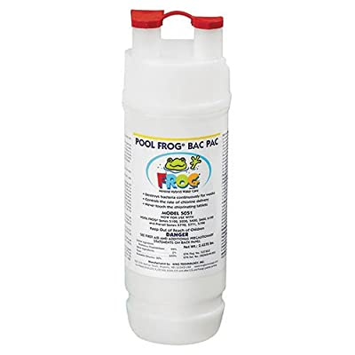 King Technology Pool Frog Mineral Purifier Replacement Chlorine Bac Pac : Swimming Pool Chemicals And Supplies : Garden & Outdoor