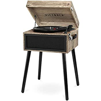 Amazon.com: Crosley CR6233D-RE Dansette Bermuda Portable ...