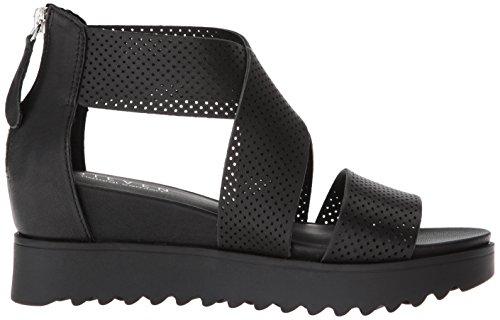 Steve Women's Klein Black Sandal NC by Leather STEVEN Madden v6qtwxRg
