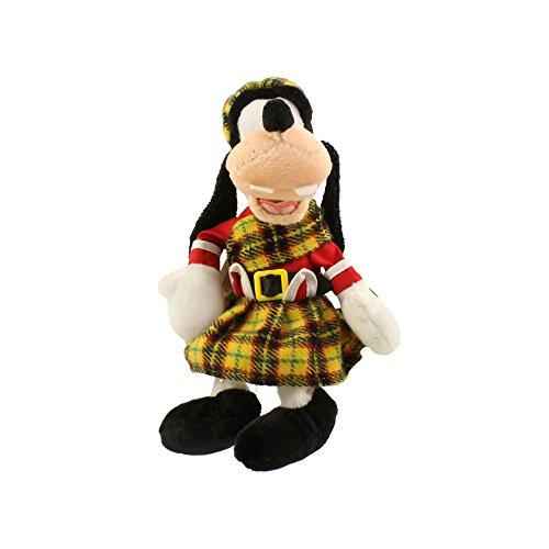 Disney Goofy in Scottish Costume Bean Bag EPCOT