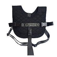 Baby Car Seat Safety Vest Travel Plane Train Portable Kids Seat Belt Harness Straps Black Safety Suspenders Accessories