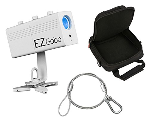 Chauvet EZ Gobo Battery Power LED Projector Light + SKB Case + Safety - Chauvet Projector