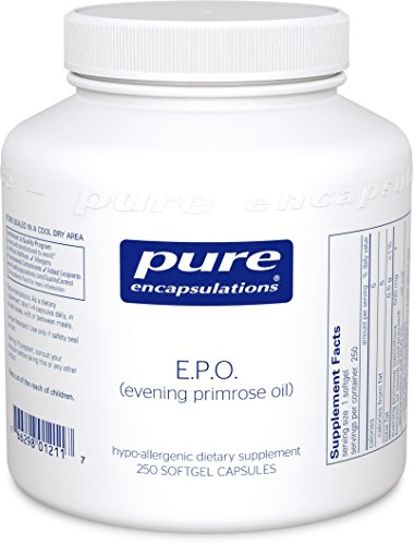 Pure Encapsulations - E.P.O. (Evening Primrose Oil) - Hypoallergenic Dietary Supplement Containing 9% GLA - 250 Softgel Capsules by Pure Encapsulations