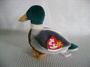 269214202ca TY BEANIE BABY Mallard Drake Duck Named JAKE THE DRAKE by TY