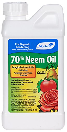 Monterey Neem Oil 70% For Controlling Insects & Disease - Pint LG6140