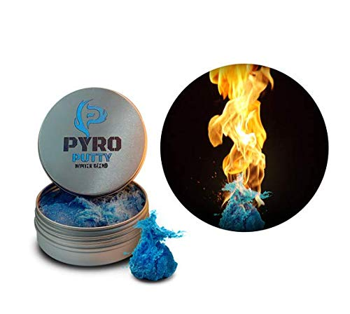 Products Putty - Phone Skope PYRO Putty Winter, Summer, Eco Blend, Emergency Survival Fire Starter (Blue Winter Blend)