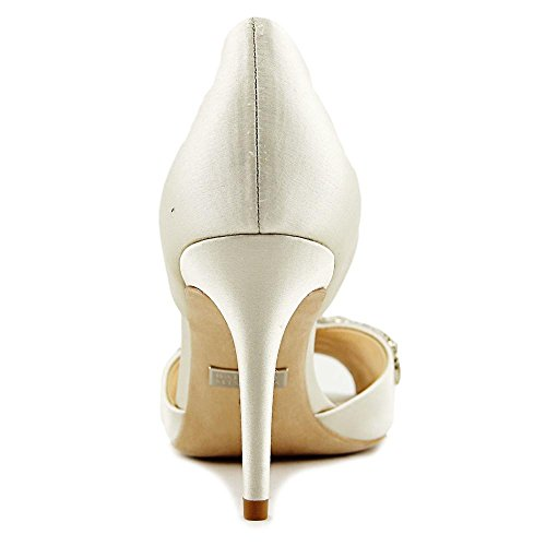 Badgley Mischka Womens Candance Dress Pump Ivory