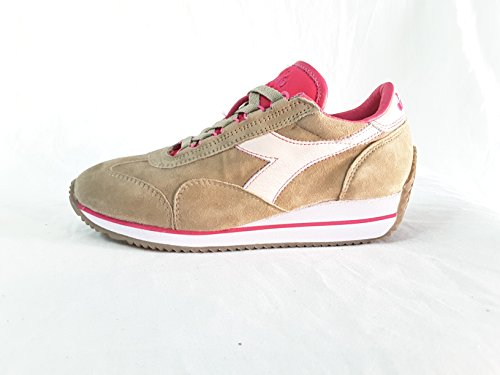 Diadora Heritage Donna, Equipe HH Kidskin Stone, Suede/Pelle, Sneakers, Marrone