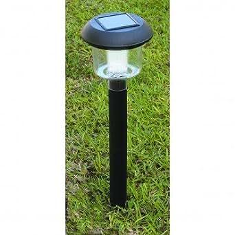 4 piece solar light set landscape path lights for Outdoor pathway lighting sets