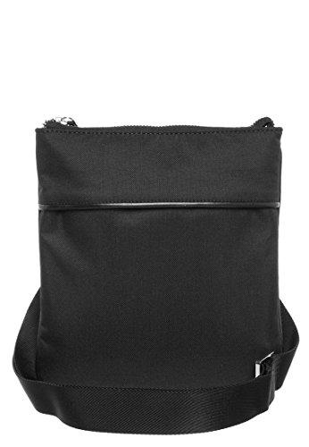 Borsello Tracolla Uomo Calvin Klein Jeans Mod. Helix Flat Crossover K5EK500201 Col. Nero.