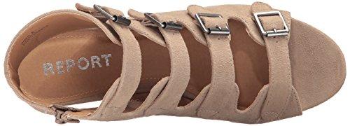 Sandal Women's Wedge Taupe Sadah Report qP1wttd