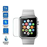 Product review for Lyperkin [3Pcs] Compatible with Apple Watch Series 1/2/3 38/42mm, Anti-Scratch HD Full Edge Tempered Glass Ultra-Thin Screen Protector Film,[Full Coverage] Glass Screen Protector.