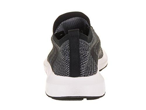 Adidas Mens Swift Run Primeknit Originals Scarpa Da Corsa Nucleo Nero / Grigio Cinque-grigio Grigio Heather