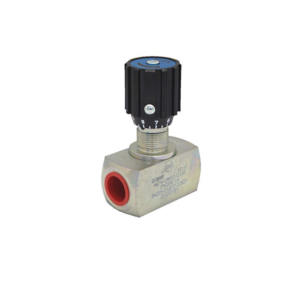 NDV-DN10-3/8''NPT-13 A MHA-ZENTGRAF Steel NDV Flow Control Valve 350 BAR, 3/8''NPT