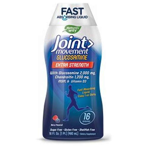(Wellessee Joint Movement Glucosamine Liquid 16 Ounces (2 pack))