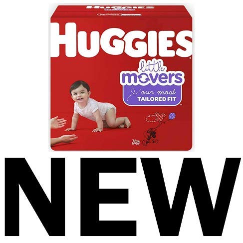 HUGGIES Little Movers Diapers, Size 5, 124 Count (Packaging May Vary) by Huggies (Image #1)