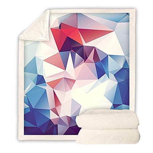 URVIP 3D Printed Blanket Super Soft Cozy Sherpa Fleece Throw Blanket for Sofa BZ-074 S (Melbourne Buy Furniture Outdoor)