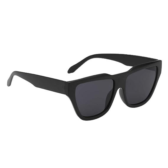 fbf74109486ca Homyl Retro Square Frame Sunglass Shades Oversize Design Glasses Eyewear -  Women