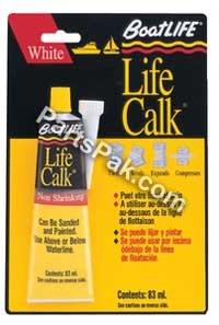 BoatLIFE Liquid Life Calk Tube, 2.8 Fluid Ounce, White