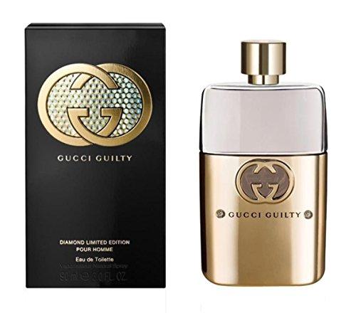 [ Ss Perfume ]G U C C I Guilty Diamond Pour Homme EAU De Toilette Spray (Limited Edition) 3 Oz.