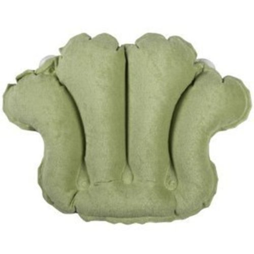 terry bath pillow celery deluxe comfort bath pillows