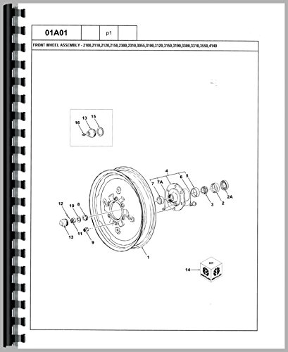 Download Ford 7100 Tractor Parts Manual ebook