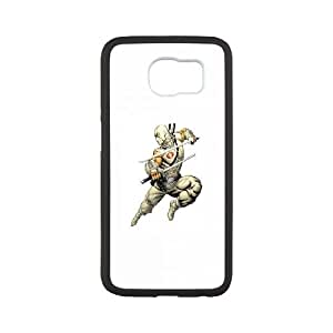 Samsung Galaxy S6 Cell Phone Case Black Storm Shadow Lxbnv