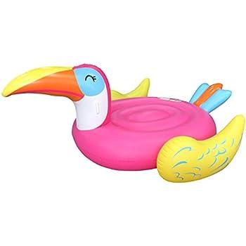 Amazon Com Intex Inflatable Mega Toucan Island Float