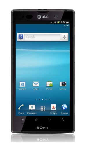 Sony Xperia Ion LTE LT28a 16GB Unlocked GSM Dual-Core Android Smartphone w/ 12MP Camera - Black (Sprint Ericsson Sony)